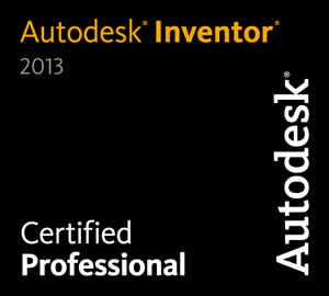 Niki Rotbøll - Autodesk Inventor 2013 - Certified Professional